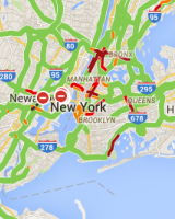 生活参考-纽约交通阻塞情況